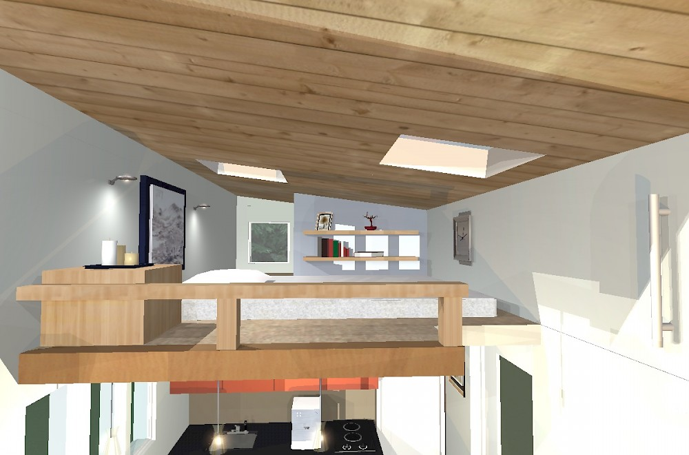 House loft design house and home design for Loft style home plans