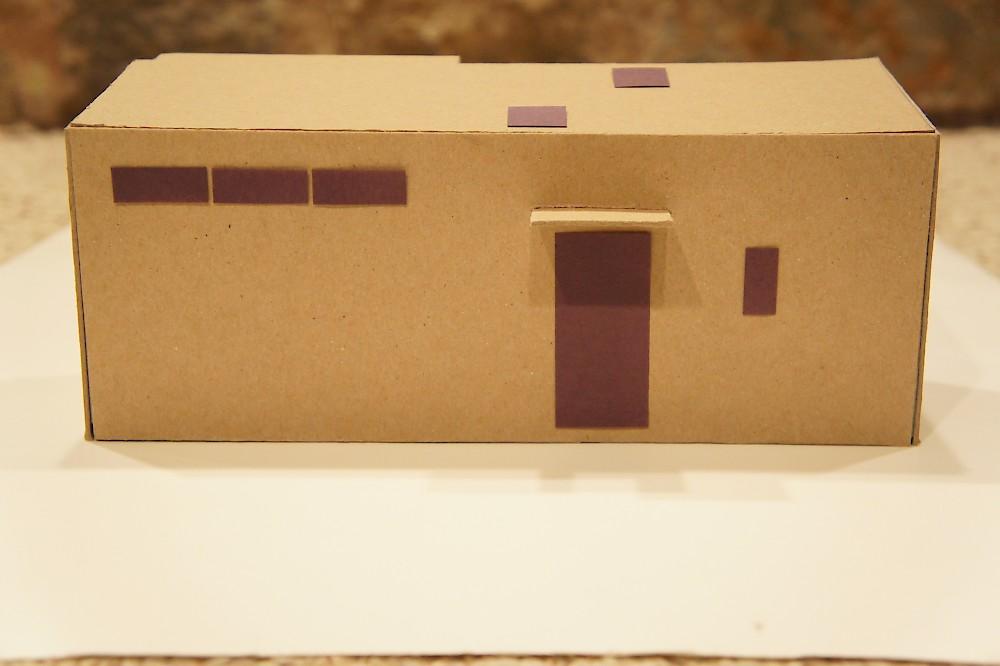 Teeny Tiny Cardboard House Processhouse